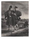 Faust  Méphistophélès et le barbet  1827
