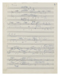 Etudes pour piano : esquisses  étude n°2  2e cahier