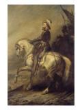 Portrait équestre d'Henri IV à la tête de ses troupes