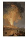 Eruption du Vve