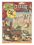 Affiche RAbdy et ses kakatoës
