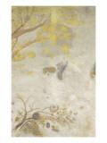 Décoration Domecy : la branche fleurie jaune