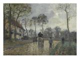 La diligence à Louveciennes (Yvelines)