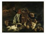 Dante et Virgile aux enfers dit aussi : La barque de Dante