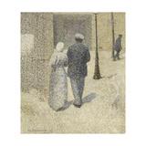 Couple dans la rue