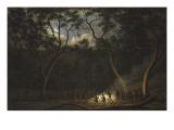Dance of the Natives of Van Diemen's Land  Moonlight