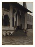 Porte de la Mosquée de Yéni-Djami à Constantinople