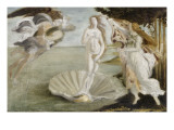 Copie d&#39;apr&#232;s Botticelli : Naissance de V&#233;nus (Offices  Florence)