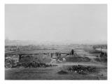 Travaux de construction de laTour Eiffel : début des travaux de terrassement pour les fondations