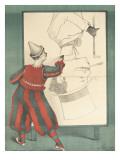 Affiche Clown portraitiste