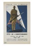 Pour la liberté  fête de l'indépendance
