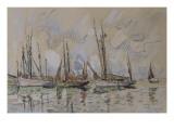 Bateaux de pêche dans le port de Lorient