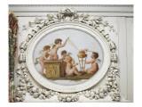 Salon des jeux de la reine Marie-Antoinette : le Feu