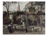 """Guinguette à Montmartre :""""Le Billard en bois""""devenu""""La bonne franquette"""""""