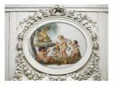 Salon des jeux de la reine Marie-Antoinette : l'Eau