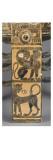 Exaleiptron tripode à figures noires