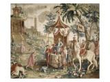 """Tenture du prince chinois : """"le voyage de l'Empereur"""""""