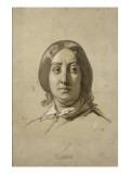 George Sand (1804-1876)  écrivain - esquisse