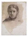 Giovanna Bellelli  étude pour La famille Bellelli