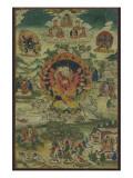 Ganapati sous son aspect Mahârakta