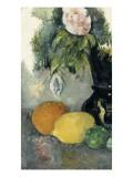 Fleurs et fruits Giclée par Paul Cézanne
