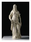 Femme voilée; figure allégorique de la Foi