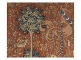 Tenture de la Dame à la Licorne : Le Goût Giclée