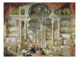 Galerie de vues de la Rome Moderne