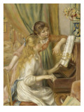 Jeunes filles au piano