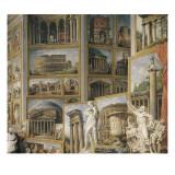 Galerie de vues de la Rome Antique