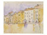 Maisons ensoleillées au bord de l'eau  à Saint Tropez
