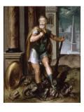 Henri IV en Hercule écrasant l'hydre