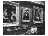 Au salon carré du Louvre : la Joconde