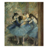 Danseuses bleues