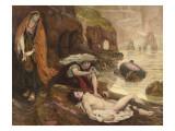 Haydée découvrant le corps de Don Juan (Byron - Don Juan Chant II 129-131)