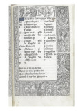 Livre d&#39;Heures de Thielman Kerver