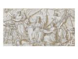 Arc de triomphe du Carrousel : la paix de Presbourg