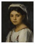 Tête de jeune italienne