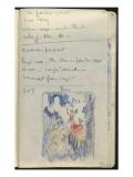 Carnet : Composition dans un encadrement et annotations