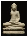 Buddha en méditation  assis sur le lotus