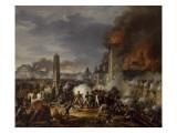 Attaque et prise de la ville de Ratisbonne par le maréchal Lannes le 23 avril 1809