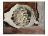 Bouquet dans une loge Giclée par Pierre-Auguste Renoir
