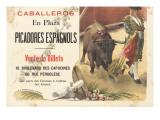 Caballeros en plaza  picadores espagnols