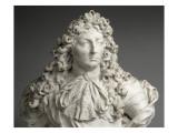 Buste de Louis XIV  roi de France et de Navarre (1638-1715)