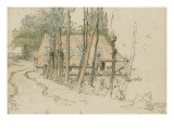 Environs de Vichy  moulin et sa retenue d&#39;eau (1866-1868)