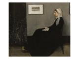 Arrangement en gris et noir n° 1  ou la mère de l'artiste (1804-1881)