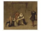 Henri IV jouant avec ses enfants