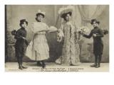 Cirque Ancillotti-Plège 4 Soeurs Italia (pot-pourri acrobatique) (1912)