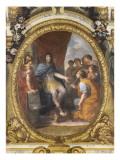 Plafond de la Galerie des Glaces : Protection accordée aux Beaux-Arts