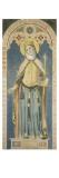Carton pour les vitraux de la chapelle Saint-Ferdinand : sainte Adélaïde  impératrice d'Allemagne